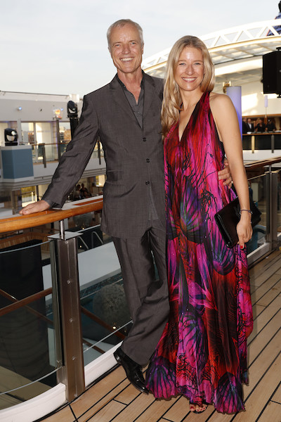 Tom Jacobi und Katharina Jacobi bei der Fashion2night an Bord der MS Europa2 ©Hapag Lloyd Cruises