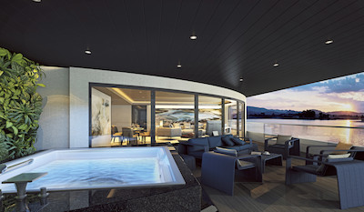 Scenic Eclipse Owner's Penthouse