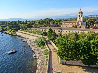 Antibes - Saint Honorat Iles de Lerins,Antibes in Frankreich