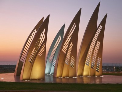 Ashdod - Monument Sails in Ashdod, Israel
