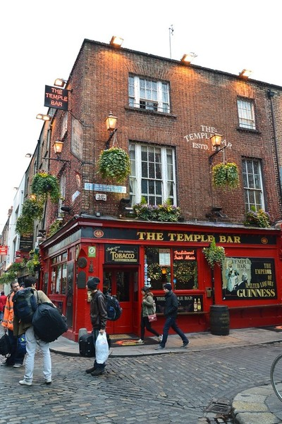 Dublin - The Temple Bar in Dublin Irland