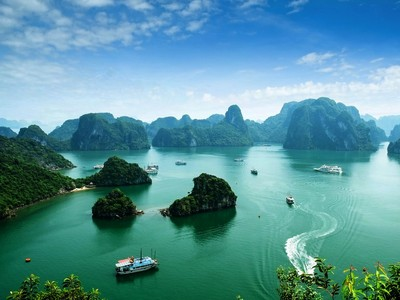 Halong Bucht - Halong Bucht in Vietnam