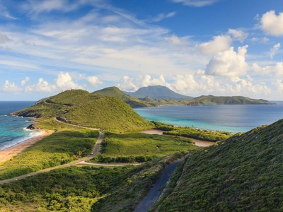 St. Kitts - Panorama von St.Kitts