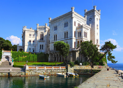 Triest - Das Schloss Miramare in Triest