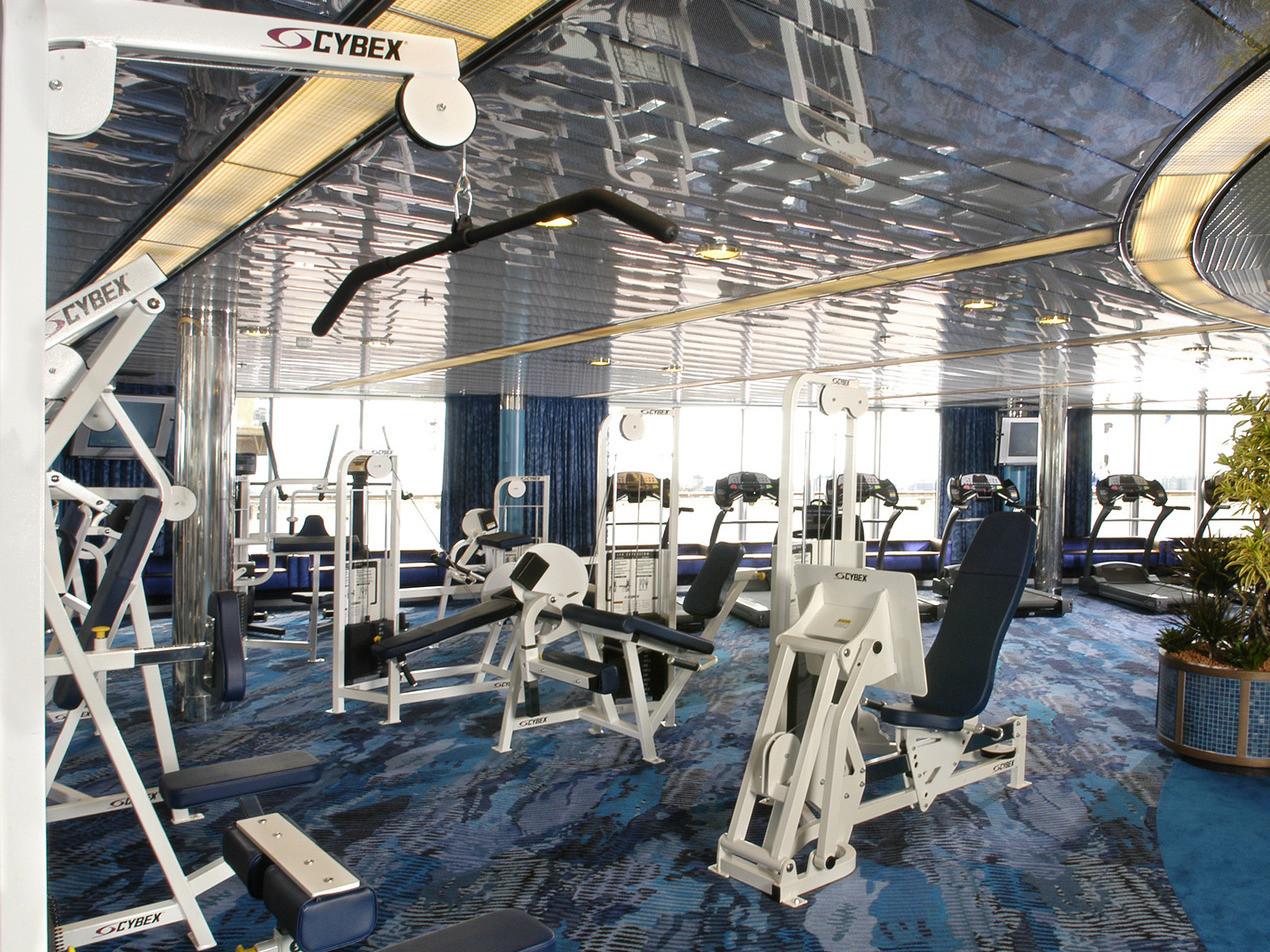 Luxus fitnesscenter  ms Oosterdam - Kreuzfahrten mit der ms Oosterdam online buchen bei ...