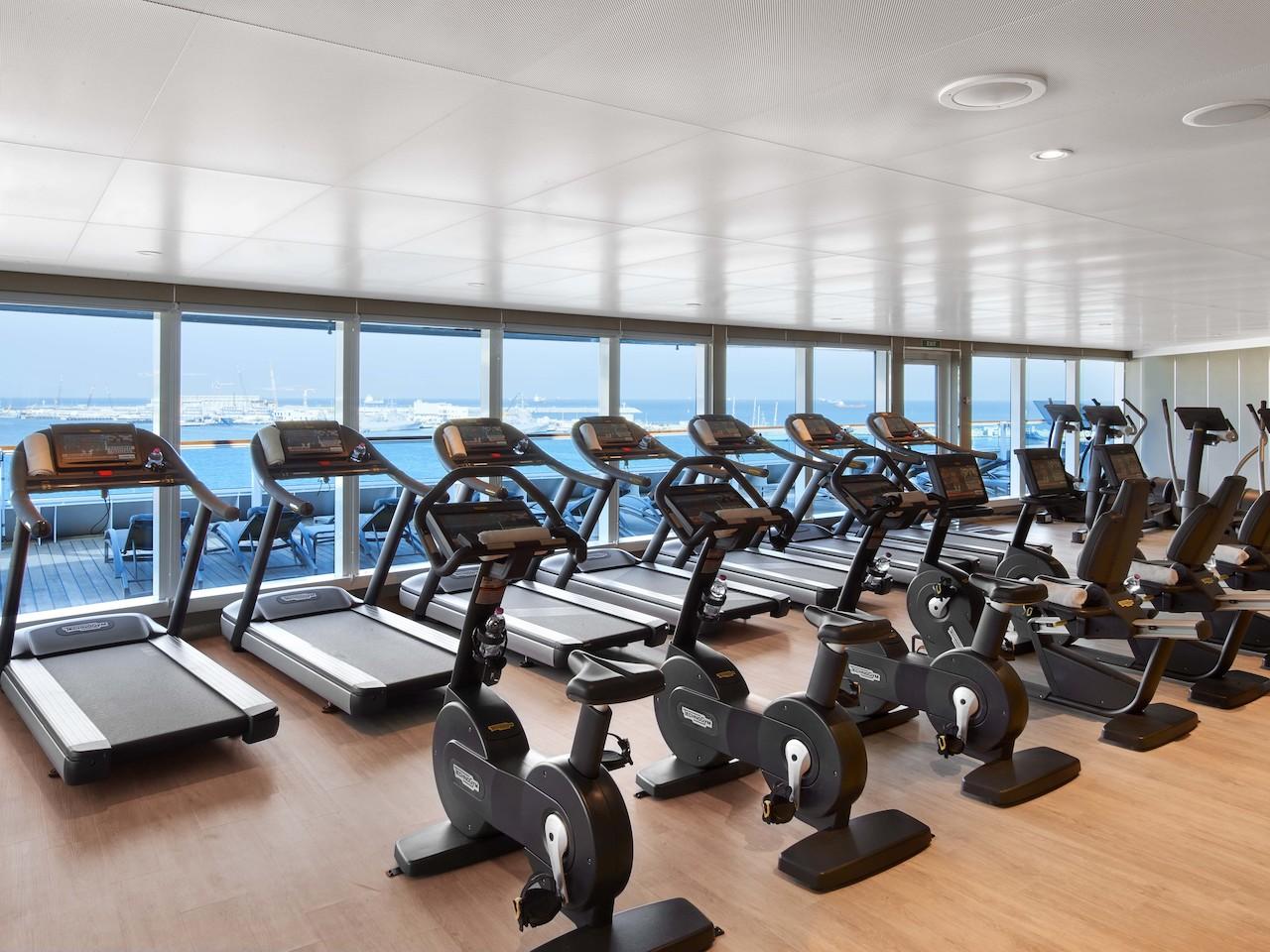 Luxus fitnesscenter  Seabourn Encore - Kreuzfahrten mit der Seabourn Encore online buchen ...