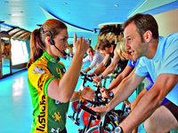 AIDAluna - Spinning im Gym