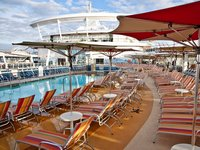 Allure of the Seas - Pool Deck