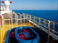 Carnival Conquest - Pooldeck
