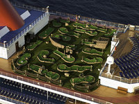 Carnival Dream - Minigolf
