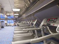 Carnival Elation - Gym