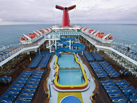 Carnival Elation - Lido Pooldeck