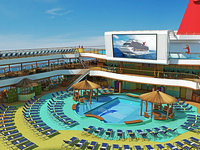 Carnival Magic - Beach Pool