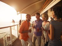 Celebrity Equinox - Sundowner auf dem Sunset Deck