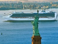 Crown Princess - in New York