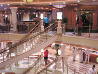 Crown Princess - Atrium