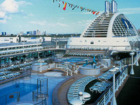 Dawn Princess - Lido Deck