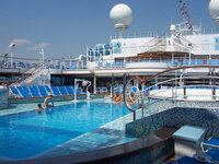 Emerald Princess - Pool Deck