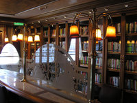 Emerald Princess - Bibliothek