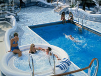 Grand Princess - Neptune's Reef & Pool
