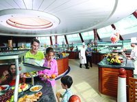 Grandeur of the Seas - Windjammer Restaurant