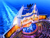 Harmony of the Seas - Aqua Theater Show