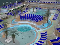 Majestic Princess - Pool Area