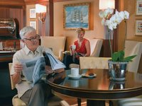 Marina - Executive Lounge ©Oceania Cruises