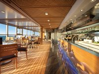 Marina - Waves Grill Restaurant ©Oceania Cruises
