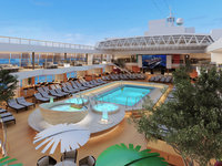 MS Koningsdam - Pooldeck