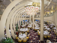 MS Koningsdam - The Dining Room - Hauptrestaurant