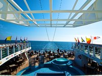 MS Ocean Majesty - Pooldeck