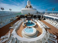 MS Prinsendam - Pooldeck