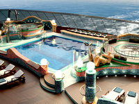 MSC Fantasia - Swimmingpool