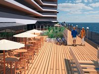 MSC Seaside - Promenade