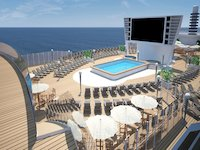 MSC Seaside - Pooldeck