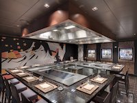 MSC Seaside - Asian Market Kitchen  - Teppanyaki Restaurant