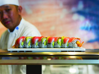 Navigator of the Seas - Sushis im Izumi Restaurant
