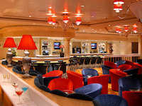 Norwegian Dawn - Dazzles Lounge - Nachtclub