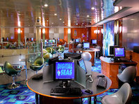 Norwegian Dawn - Internet Café