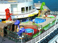 Norwegian Dawn - T-Rex Kids Pool