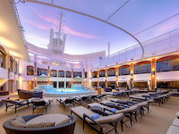 Norwegian Epic - Courtyard Sonnendeck