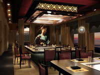 Norwegian Escape - Teppanyaki Restaurant