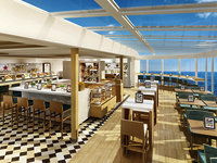 Norwegian Escape - Food Republic Restaurant