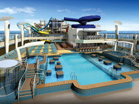 Norwegian Escape - Aqua Park