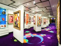 Norwegian Gem - Art Gallery
