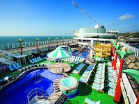Norwegian Gem - Pooldeck