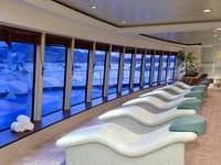 Norwegian Jewel - Bora Bora Health Spa Relaxation Area