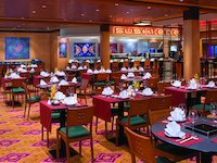 Norwegian Jewel - Chin Chin - asiatisches Restaurant mit Sushi Bar