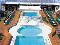 Norwegian Sun - Pooldeck